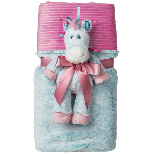 Marshmallow Magic Cuddle Blanket Set - 28x40""