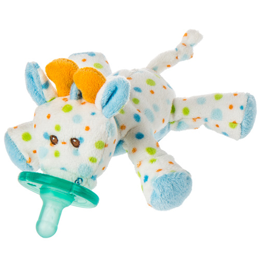 Little Stretch Giraffe WubbaNub Pacifier - 6""