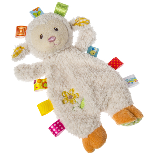 Taggies Sherbet Lamb Lovey - 12""