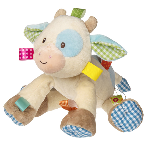 Taggies Casey Cow Soft Toy - 10""
