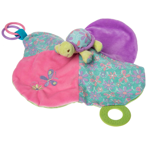 Tessa Turtle Activity Blanket - 13x13""