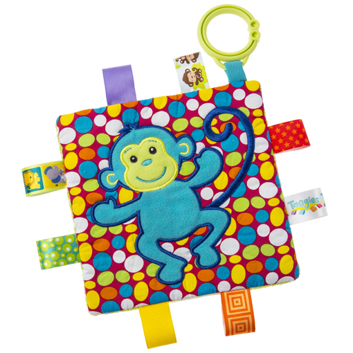"Taggies Crinkle Me Monkey - 6.5"" x 6.5"""