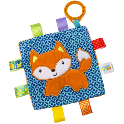 "Taggies Crinkle Me Fox - 6.5"" x 6.5"""