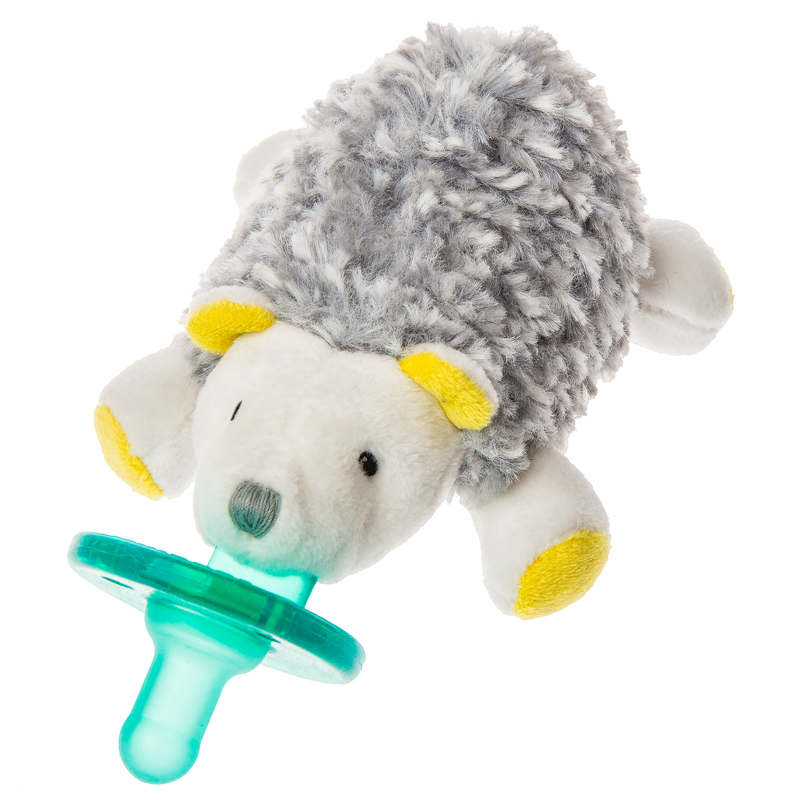 "Sunshine Hedgehog WubbaNub Pacifier - 6"" #43032"