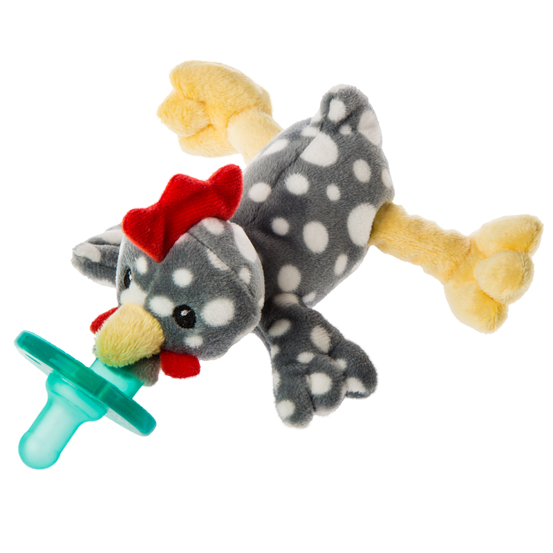 "Rocky Chicken WubbaNub Pacifier - 6"" #43042"