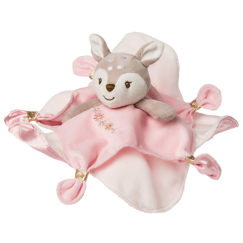 "Itsy Glitzy Fawn Character Blanket - 13"" #43104"
