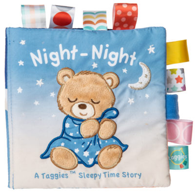 40140 Taggies Starry Night Teddy Soft Book - 6x6""