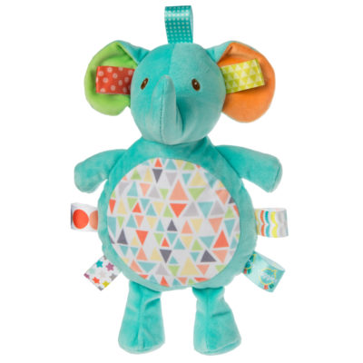40221 Taggies Kaleidoscope Elephant Cookie Crinkle - 11""