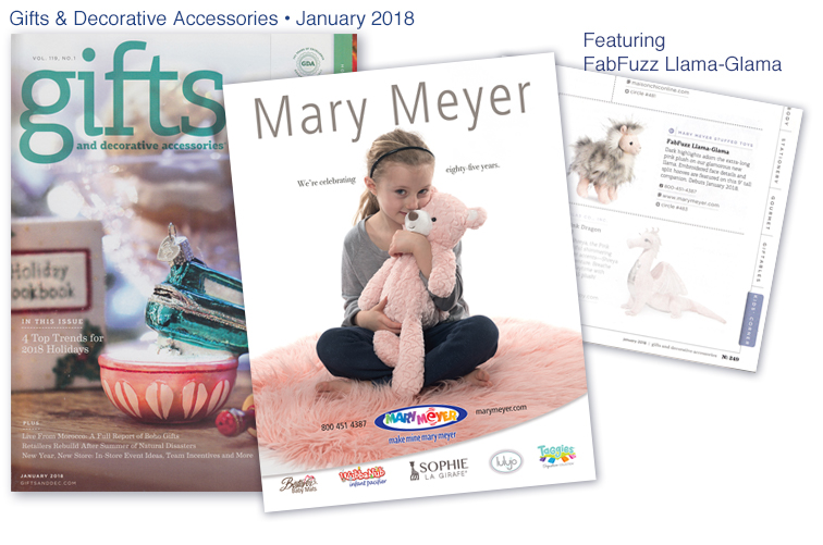 Mary Meyer Gift & Decorative Accessories - January 2018