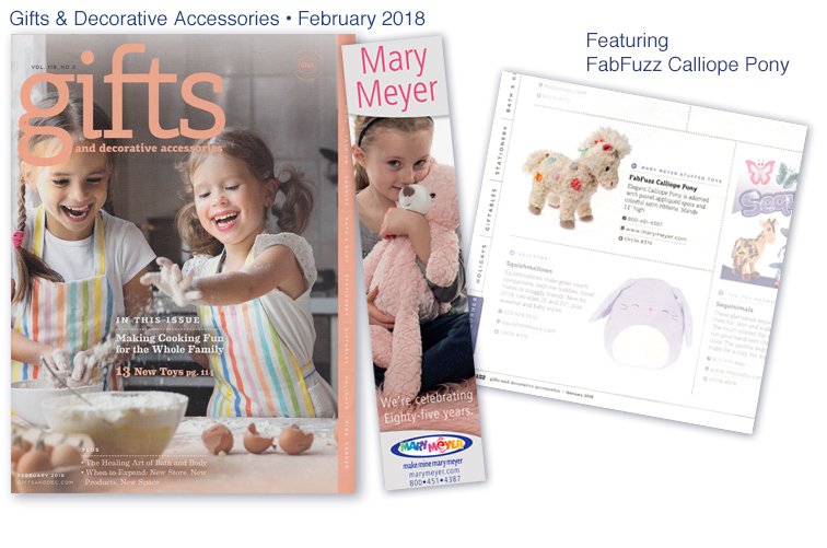 Mary Meyer Gift & Decorative Accessories - February 2018