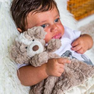 "Putty Nursery Hound Character Blanket - 13x13"" #42675"