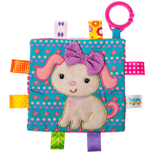 """Taggies Crinkle Me Sister Puppy - 6.5x6.5"""""""