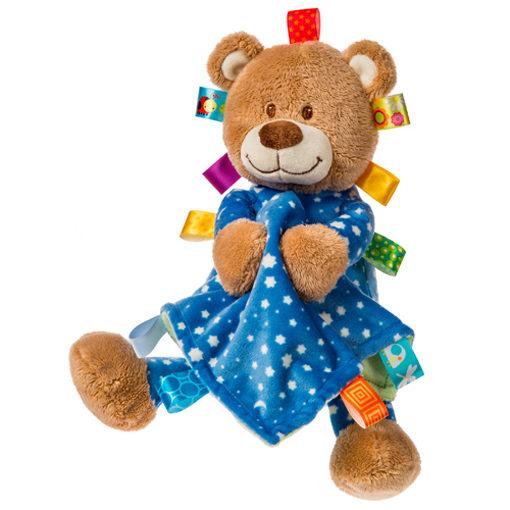 "Taggies Starry Night Teddy & Blanket - 12"""