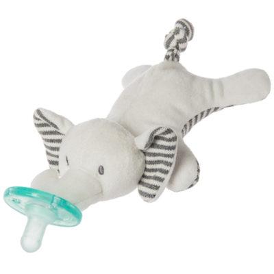 """Afrique Elephant WubbaNub™ Pacifier - 6"""" #42054 £8.00"""