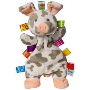 """Taggies Patches Pig Lovey - 12"""""""