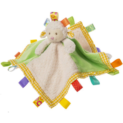 "Taggies Sherbet Lamb Character Blanket - 13x13"""