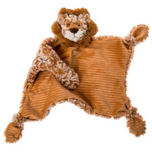 "Afrique Lion Character Blanket - 13x13"""