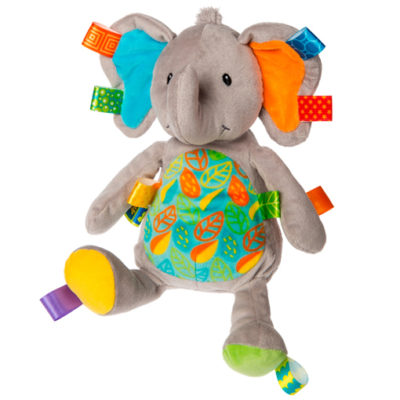 Taggies Little Leaf Elephant Soft Toy - 12""
