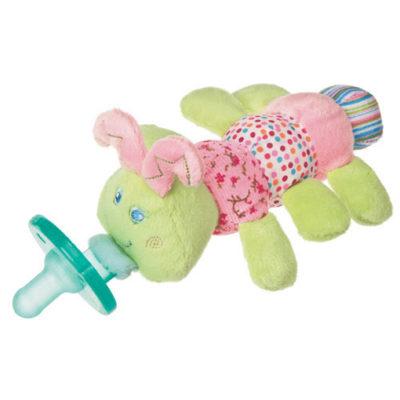 "Cutsie Caterpillar WubbaNub Pacifier - 6"""