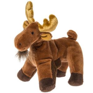 "Munchin Moose Finger Puppet - 6"""