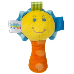 Taggies Colours Mini Rattle - 5.5""