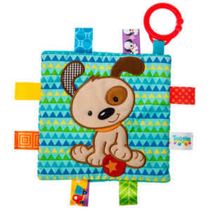 """Taggies Crinkle Me Brother Puppy - 6.5x6.5"""""""