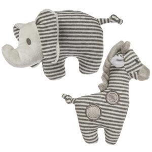 "Afrique Elephant & Giraffe Rattle - 5"" #42050 £4.16"