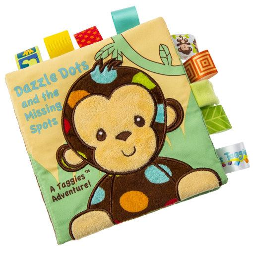 "Taggies Dazzle Dots Monkey Soft Book - 6x6"""