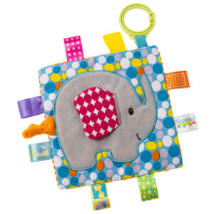 "Taggies Crinkle Me Elephant - 6.5"" x 6.5"""