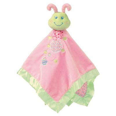 """Cutsie Caterpillar Baby Blanket - 17"""" x 17"""""""