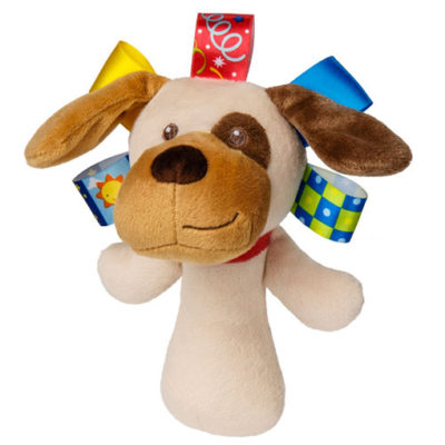 Taggies Buddy Dog Rattle - 6""