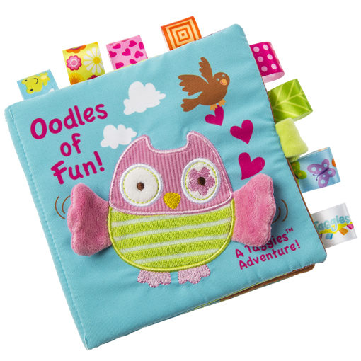 """Taggies Oodles Owl Soft Book - 6x6"""""""