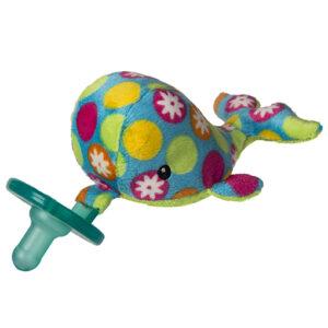 "Bubbly Whale WubbaNub Pacifier - 6"""