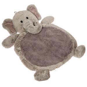 """Grey Elephant Baby Mat - 31x23"""""""