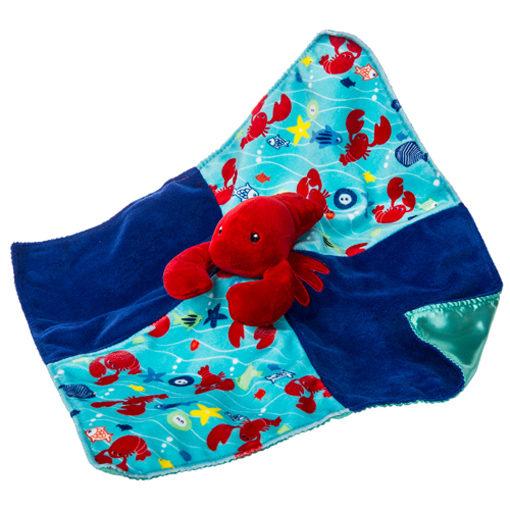 Lobbie Lobster Character Blanket - 13x13