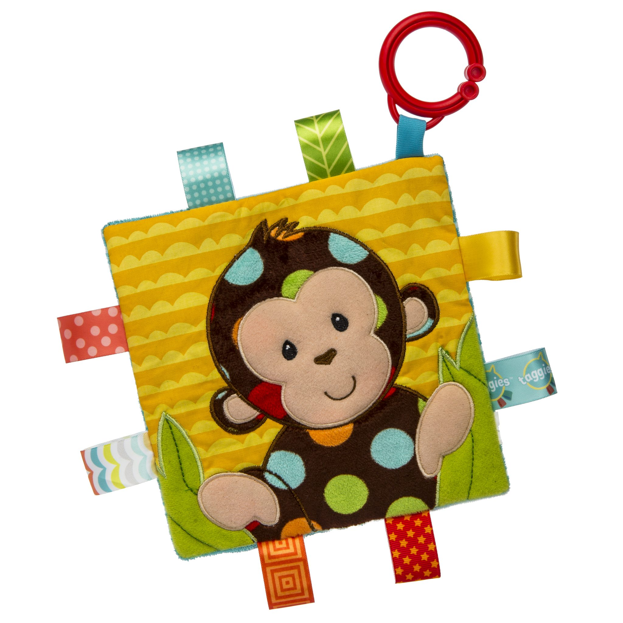 Taggies Crinkle Me Monkey Baby Toy by Mary Meyer