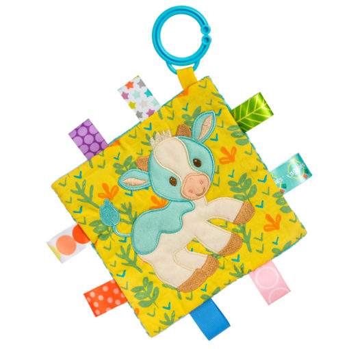 """40011 Taggies Crinkle Me Casey Cow - 6.5x6.5"""""""