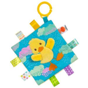 """40024 Taggies Crinkle Me Dipsy Duck - 6.5x6.5"""""""