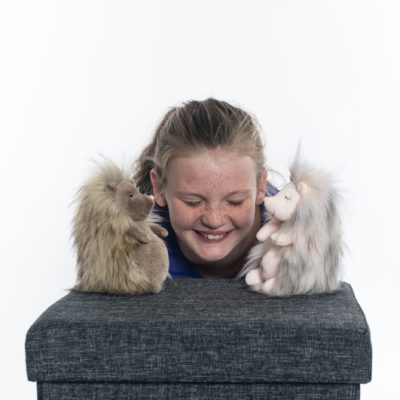 Mary Meyer FabFuzz Thistles & Bristles Hedgehog