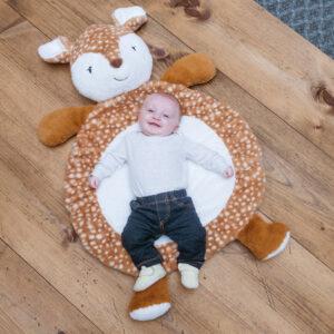 Amber Fawn Baby Mat