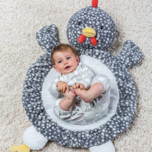 Rocky Chicken Baby Mat