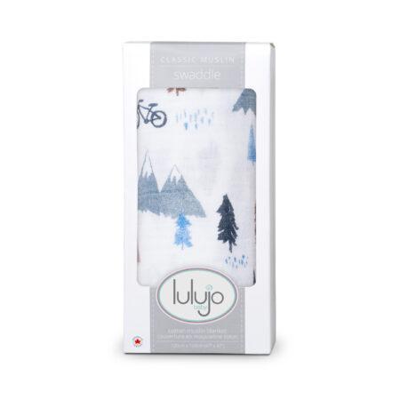 LJ432 Lulujo Mountain Top Cotton Swaddle