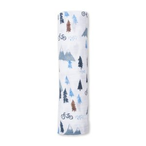 LJ432 Lulujo Mountain Top Cotton Swaddle