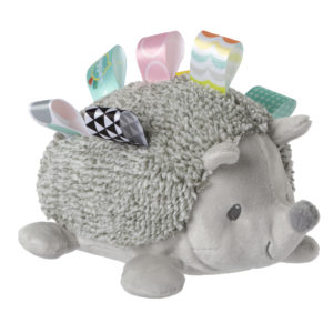 40204 Taggies Heather Hedgehog Squeeze & Squeak