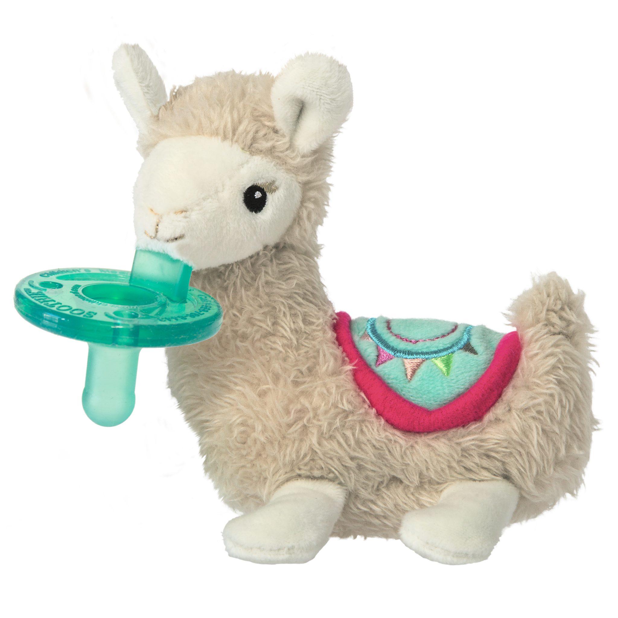 Lily Llama Wubbanub 6 Mary Meyer Stuffed Toys