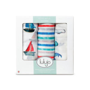 LJ136 Out to Sea Bamboo Muslin Swaddles