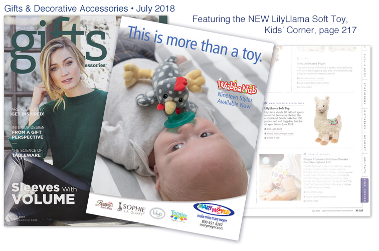 Mary Meyer Gift & Decorative Accessories - July 2018