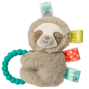 40240 Taggies Molasses Sloth Rattle
