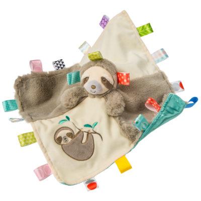 40243 Taggies Molasses Sloth Character Blanket