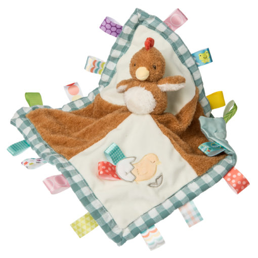 40261 Taggies Chikki Chicken Character Blanket